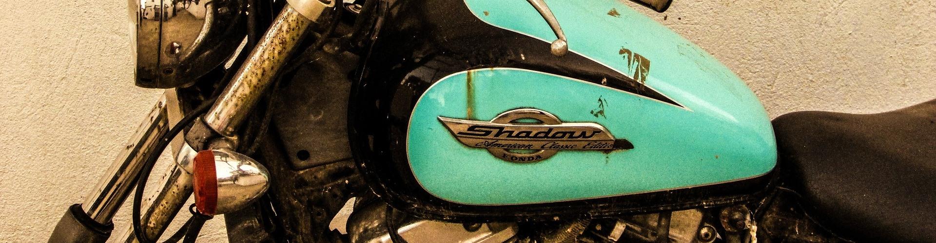 classic honda shadow motorcycle